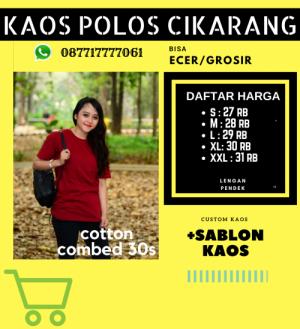 Sablon Kaos Cikarang Baru hub 087717777061