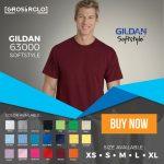 Kaos Polos Gildan Softstyle Original Murah