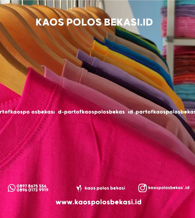 Kaos Banyak Pilihan Warna
