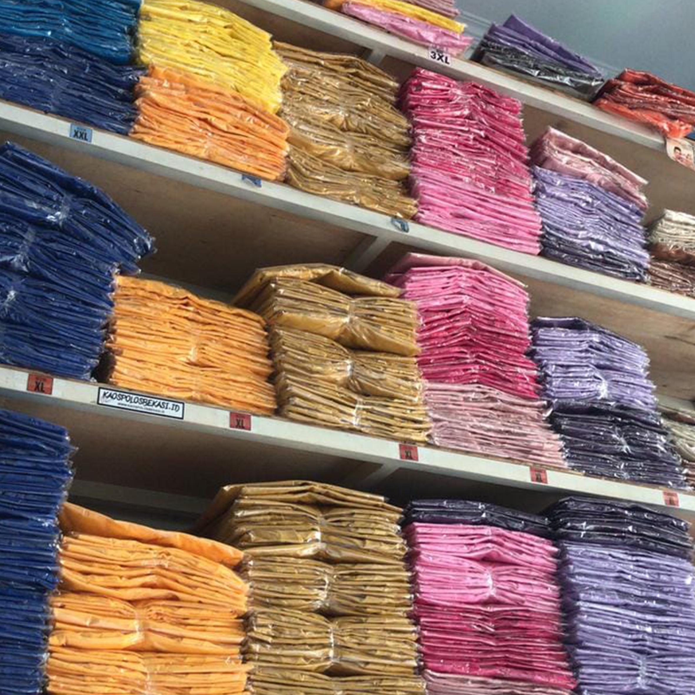 Grosir Kaos Polos Surabaya